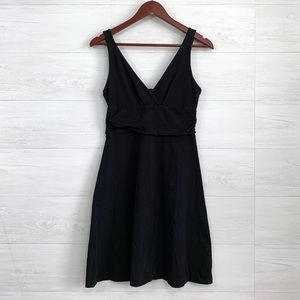 Patagonia Black Margot Organic Cotton Sun Dress